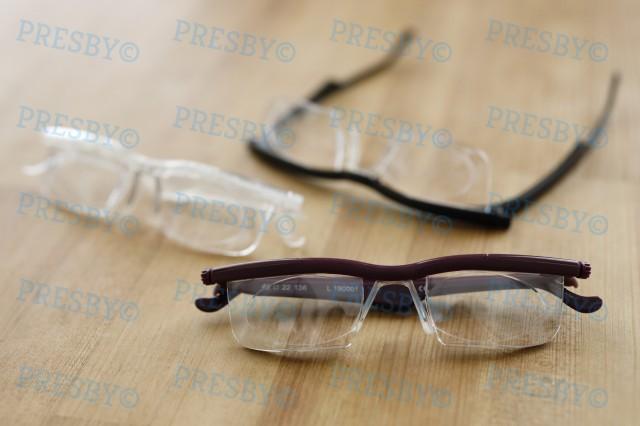 プレスビー ドゥーライフワン 老眼鏡 シニアグラス おしゃれ 拡大鏡 度数 度数調整 眼鏡 メガネ ルーペ 近視 遠視 老眼 シニア アドレン