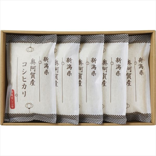 越後ファーム 新潟県奥阿賀産コシヒカリ NOK-05 4562248012161 2020b5091034