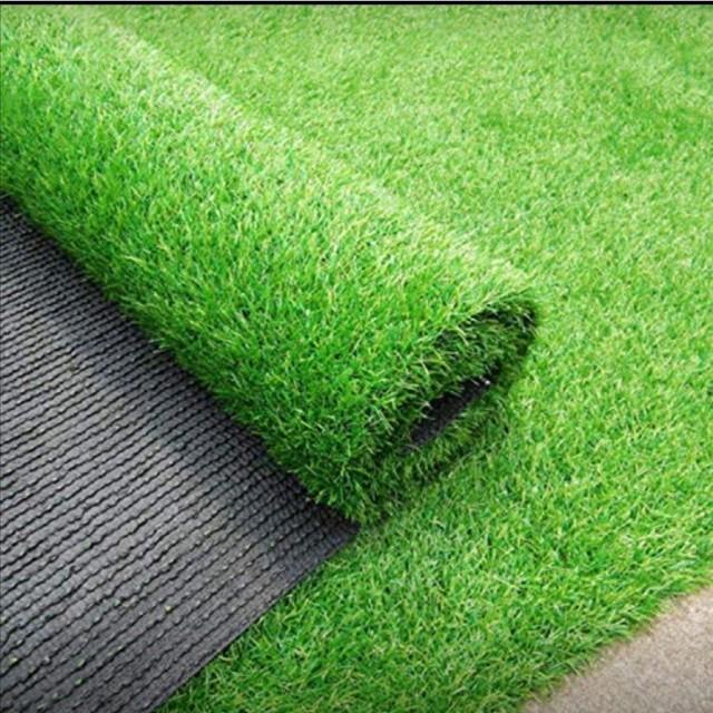 人工芝 1m×10m ロール 庭 芝丈35mm 人工芝マット 芝生 密度2倍 高耐久 固定ピン付 1年保証付き #572