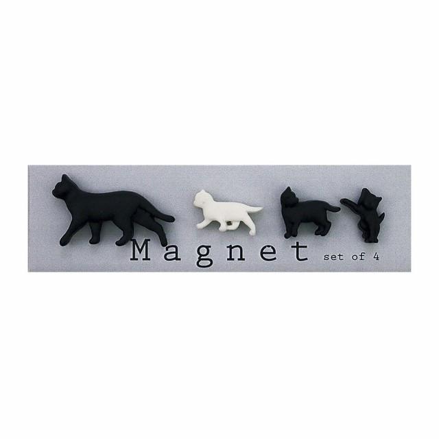 【Abeille】Magnet 4P Cat マグネット4Pセット ネコ