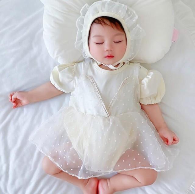 ベビードレス ドレス 赤ちゃん おしゃれ お得 かわいい 夏 秋 【送料無料】