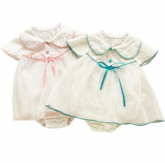人気商品!!ベビードレス ドレス 赤ちゃん おしゃれ お得 かわいい 夏 秋