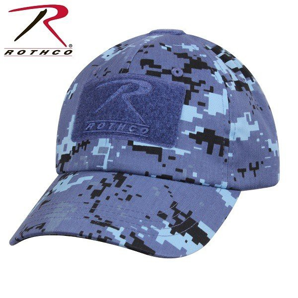 帽子 ベースボールキャップ ROTHCO ロスコ タクティカルキャップ 迷彩柄 カモ 全8色 パッチ ワッペン 男女兼用 USA アメリカ直輸入 ミリ