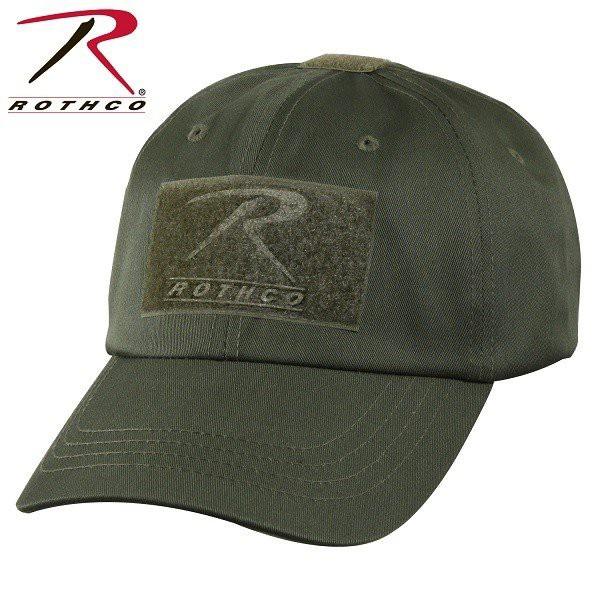 帽子 ベースボールキャップ ROTHCO ロスコ タクティカルキャップ ソリッドカラー 全6色 野球帽子 ミリタリー パッチ ワッペン USA アメリ