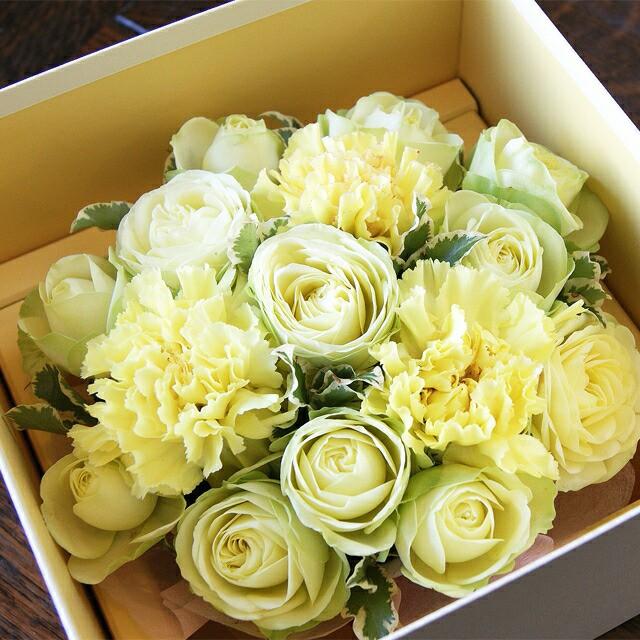 母の日 カーネーション プレゼント フラワーケーキ ギフト 【 薔薇とカーネーションのクリームケーキ 】 送料無料 母 鉢植え 鉢 花 セッ