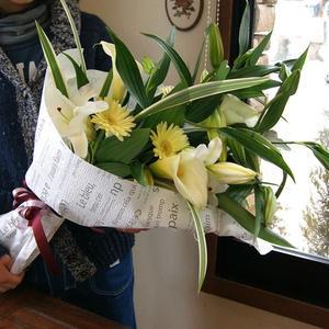 カサブランカ の花束 ポイント消化 100円 300円 500円
