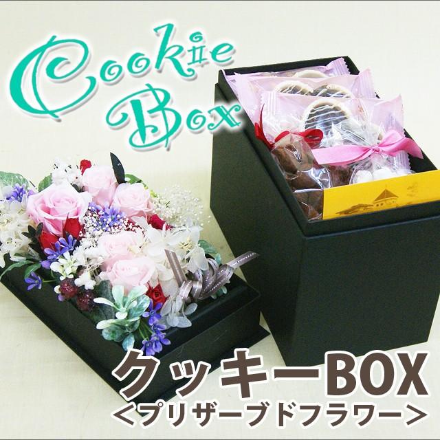 <クッキーボックス>プリザーブドとクッキー&チョコのセット ポイント消化 100円 300円 500円
