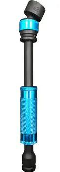 トラツメチェンジャーロングユニバーサルジョイントソケット22mm KTX-J22L 耕運機の爪交換 トラクター爪交換【REX VOL.37】