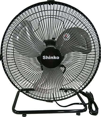 【送料無料!】新光電気 新光 床置型工場扇(30cm) 360°首振り KS-30Y ブラック 空気の入れ替え 工業扇風機 大型扇風機  工場扇 扇