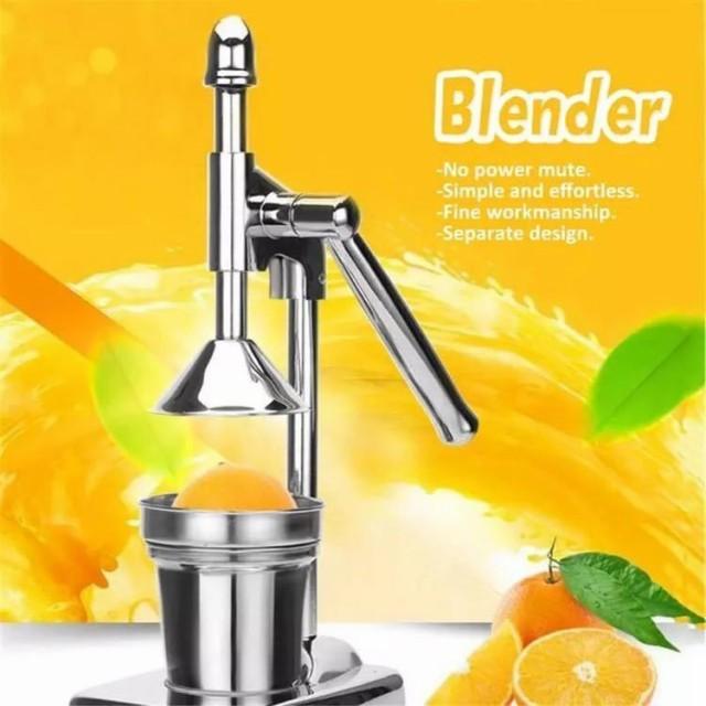 ハンドプレスジューサー オレンジジュースマシン スロージューサー 家庭 業務 フルーツジューサー 手動 野菜 果物