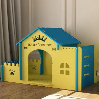 新品 6色 ペットの別荘 DOG CAT HOUSE 犬小屋/猫小屋 木製犬舎/猫舎 室内犬舎/猫舎 DIY組み立て