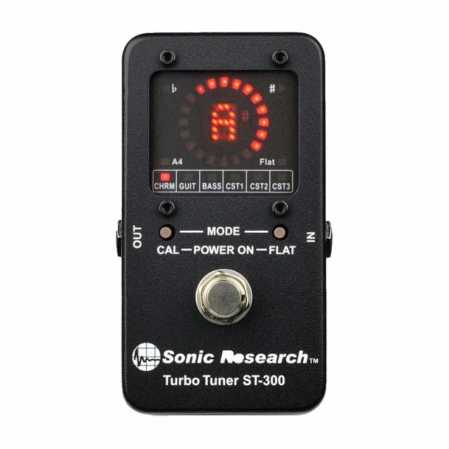 Sonic Research ペダルチューナー ST-300