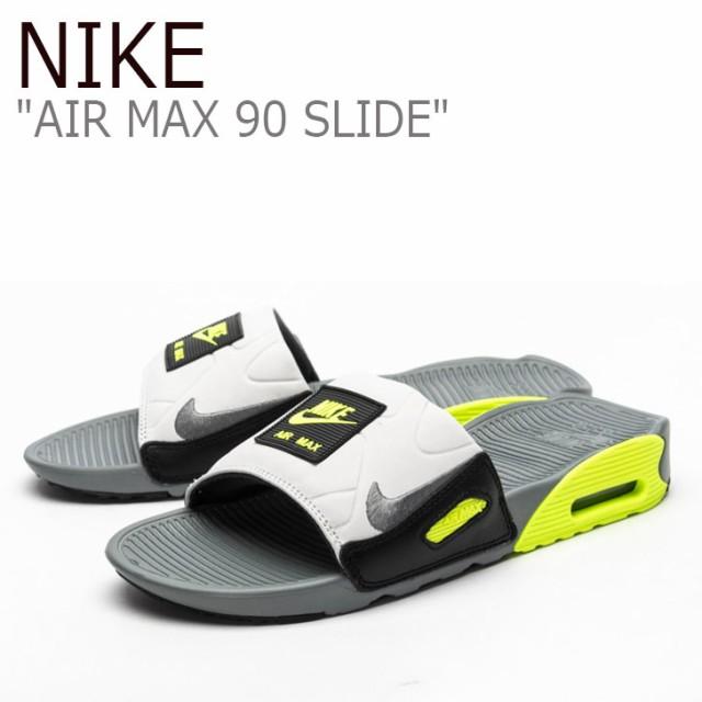 ナイキ サンダル NIKE メンズ AIR MAX 90 SLIDE エアマックス90 スライド GRAY グレー BQ4635-001 シューズ