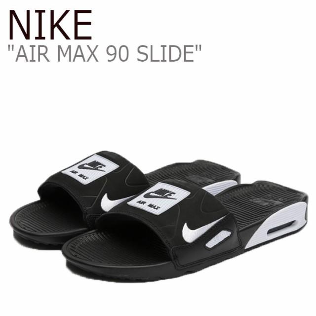 ナイキ サンダル NIKE メンズ AIR MAX 90 SLIDE エアマックス90 スライド BLACK ブラック BQ4635-002 シューズ