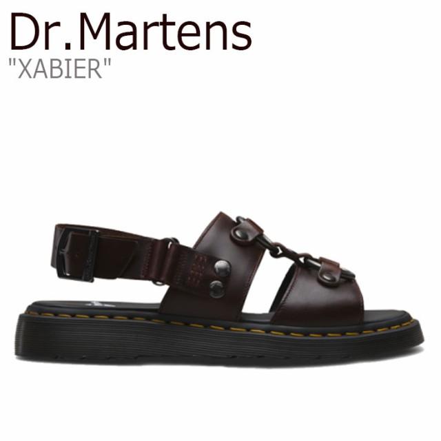 ドクターマーチン サンダル Dr.Martens メンズ レディース XABIER ザビエル BROWN ブラウン 24630211 シューズ