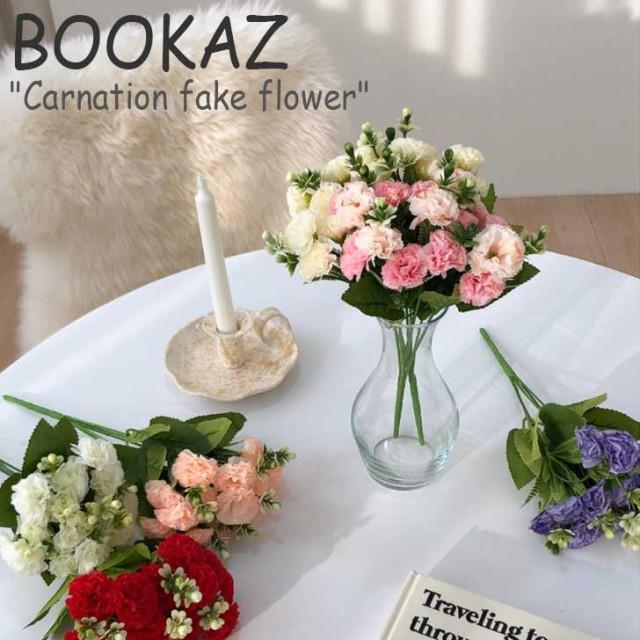 ブカズ 造花 BOOKAZ Carnation fake flower カーネーション フェイクフラワー 全5色 韓国雑貨 3765588 ACC