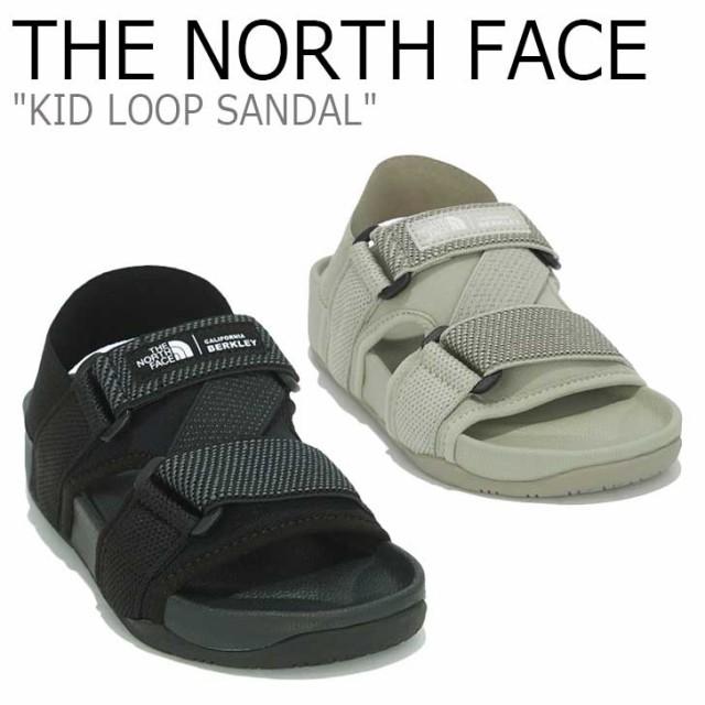 ノースフェイス サンダル THE NORTH FACE KID LOOP SANDAL キッズ ループ サンダル BLACKブラック BEIGE ベージュ NS96M06A/B シューズ