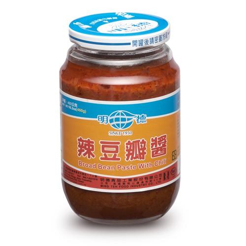 台湾明徳辣豆板醤(唐辛子味噌)460g×12本(業務用)【中華調味料】【送料無料】まとめがい 卸