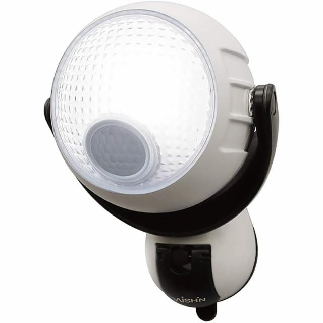 センサーライト らくらくセンサーライト吸盤 【人感 乾電池 屋内 屋外 玄関 防犯 駐車場 ガレージ ガーデン 送料無料 照明】