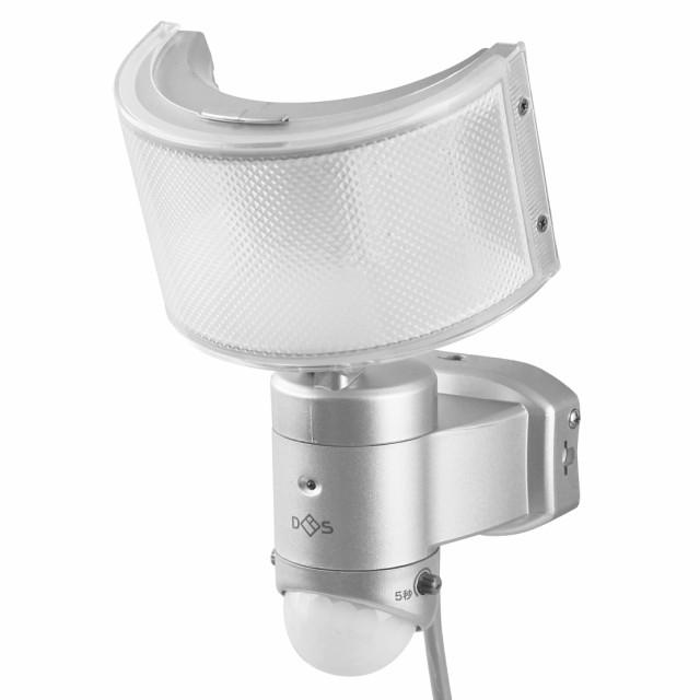 コンセント式センサーライト DLA-1T600 ( センサーライト 100v 人感センサーライト ledセンサーライト led 屋外 屋内 コンセント 防犯ラ