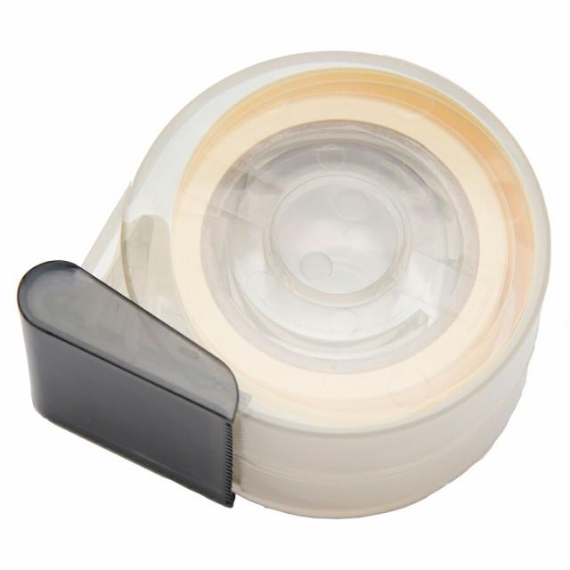 【今だけP10倍!】 襟口や袖の『皮脂汚れ』を防止 NEWよごれガードテープ テープカッター付 貼るだけカンタン 長さたっぷり5m │ えり 襟