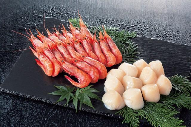 送料無料 ホタテ 貝柱 冷凍 「甘えび ほたて 貝柱 ギフトセット」 ギフト 刺し身 甘エビ ホタテ 海鮮 海産物 海の幸