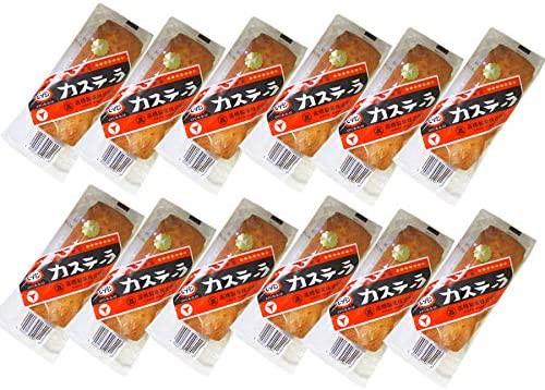 送料無料 北海道 旭川市製造 高橋製菓 ビタミン カステーラ 12個入 ご当地スイーツ 北海道 カステラ 個包装 アイバマナブで紹介