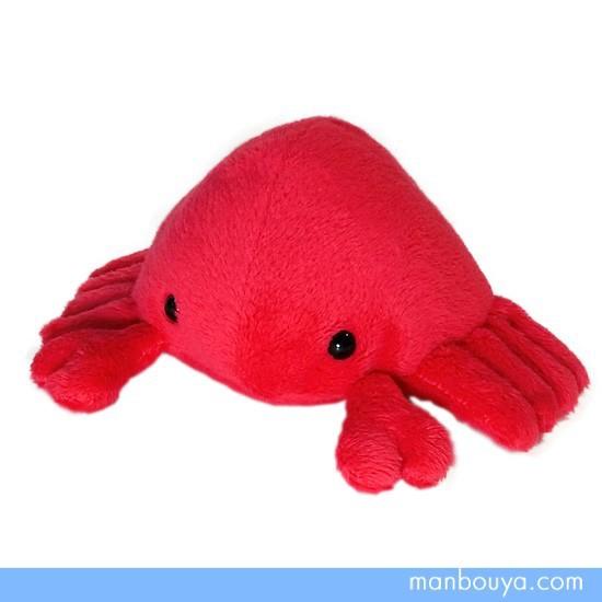 カニグッズ ぬいぐるみ 水族館 グッズ A-SHOW(栄商) ムニュマムMサイズ 海の動物 蟹 幅15cm