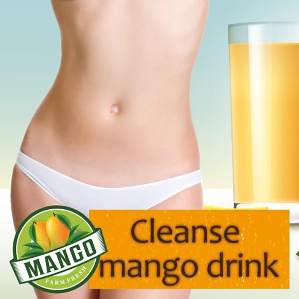 送料無料!!果物野菜のフレッシュ酵素を166種類も配合【クレンズマンゴードリンク(Cleanse mango drink)】ダイエットドリンク マンゴー