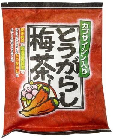 マン・ネン とうがらし梅茶 うめ茶 カプサイシン入り 2g×24包 (1袋)