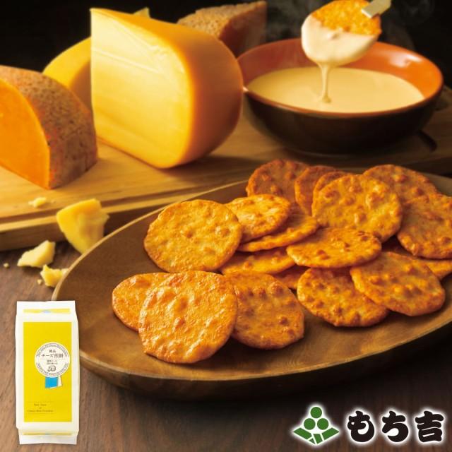 もち吉 絶品チーズ煎餅 詰替パック 国産米100% 12袋・24枚