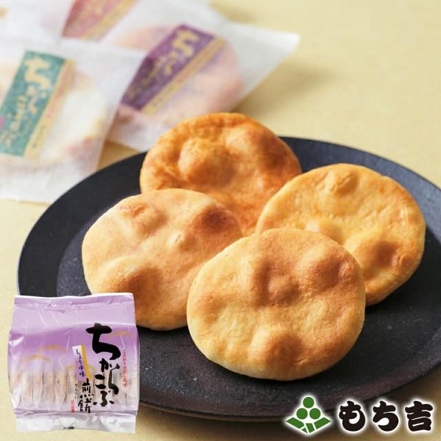 もち吉 ちからこぶ煎餅 詰替パック しょうゆ味【国産米100% 10枚】