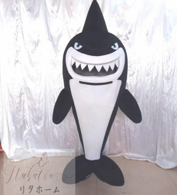 コスプレ衣装 着ぐるみ 大人用着ぐるみ きぐるみ キャラクター ハロウィン 仮装 サメ