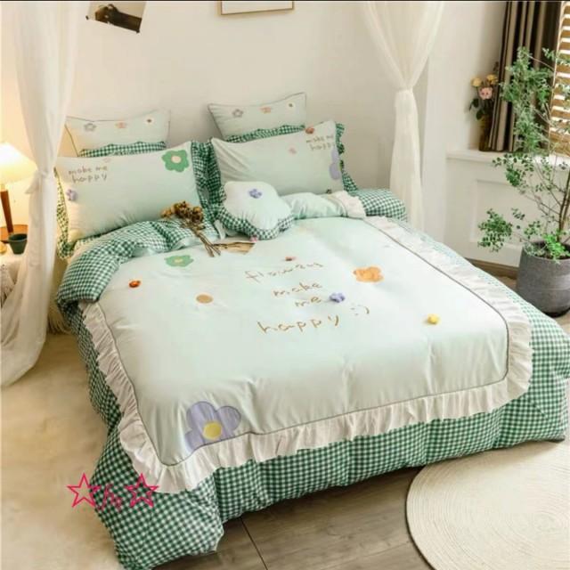高級ワイドダブル ベッド用品4点セット .寝具 ボックスシーツ 枕カバー掛け布団カバー ベッドカバー 別のサイズあり