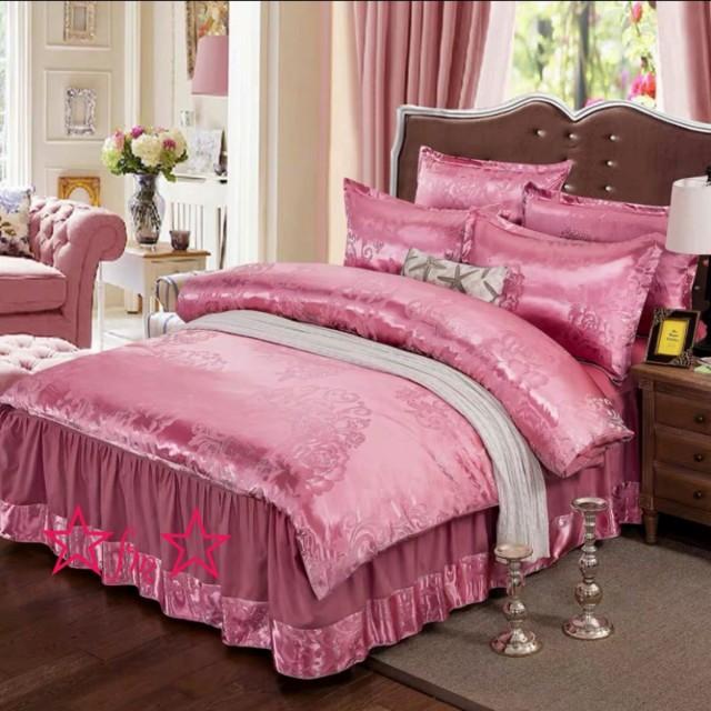 高級ワイドダブル ベッド用品4点セット 寝具 ボックスシーツ 枕カバー掛け布団カバー ベッドカバー 別サイズあり