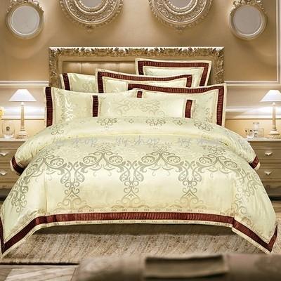 1120BS1-2新品 高級ワイドダブル ベッド用品4点セット 寝具 ボックスシーツ 枕カバー掛け布団カバー ベッドカバー.