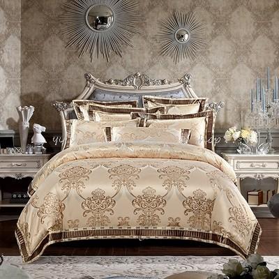 1120BS1-26新品 高級ワイドダブル ベッド用品4点セット 寝具 ボックスシーツ 枕カバー掛け布団カバー ベッドカバー