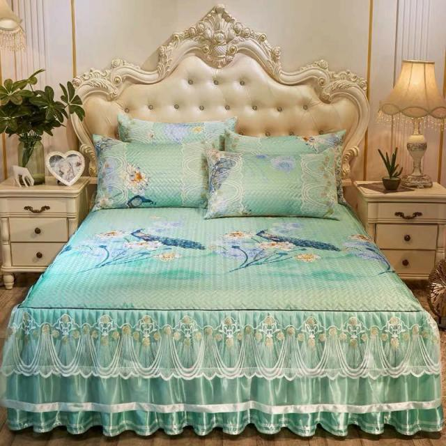 ベッド用品3点セット 枕カバー ベッドパッド .ワイドダブルサイズ
