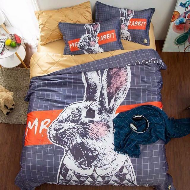 ベッド用品3点セット掛け布団カバー 枕カバー ワイドダブルサイズ