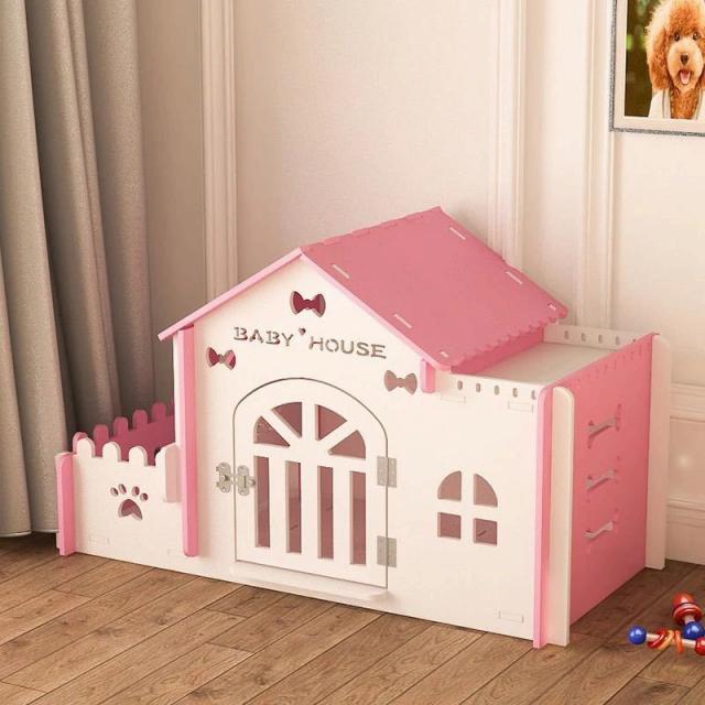 犬小屋 別荘 ペット ハウス ワンゲージ ウッドハウス ドッグハウス 動物小屋 いぬごや ペット 部屋 木製 室内 屋内 小型 名入れ可 小