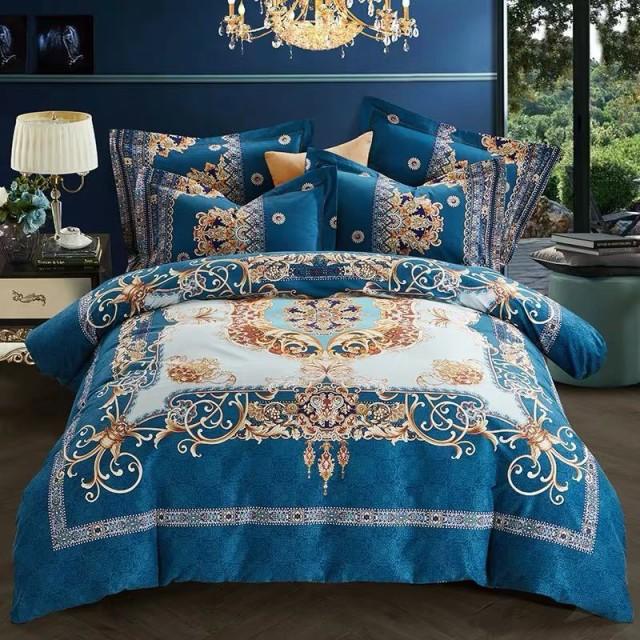ワイドダブル ベッド用品4点セット 寝具 ボックスシーツ 枕カバー掛け布団カバー ベッドカバー 別サイズあり