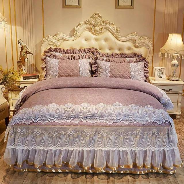 高級ワイドダブル ベッド用品4点セット .寝具 ボックスシーツ 枕カバー掛け布団カバー ベッドカバー 別サイズあり枕カバー