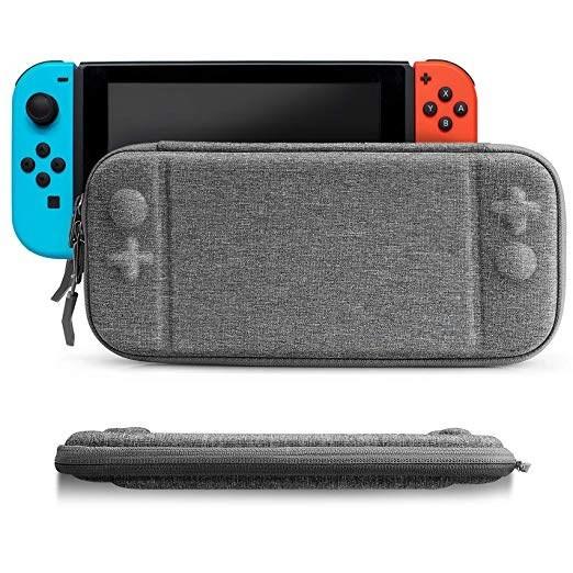 Nintendo Switch (ニンテンドー スイッチ) ケース 超薄 スリム 持ち運び キャリングケース ハードポーチ 8ゲームカード Nintendo Switch