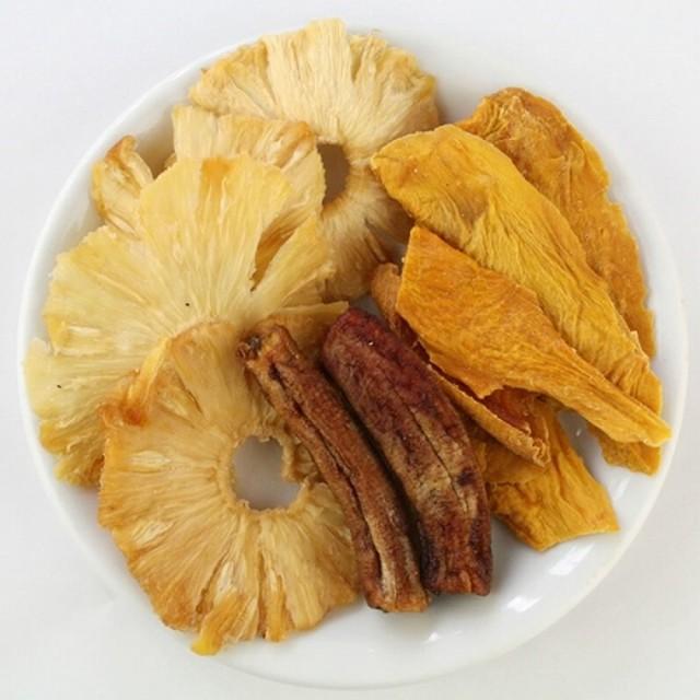 アフリカンドライフルーツ トロピカルミックス S 80g 砂糖不使用 無添加 農薬不使用 マンゴー バナナ パイナップル パイン 乾燥 ノンシュ