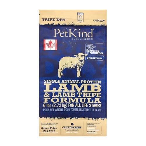 PetKind TripeDry SAPラム 小粒 犬用 2.72kg