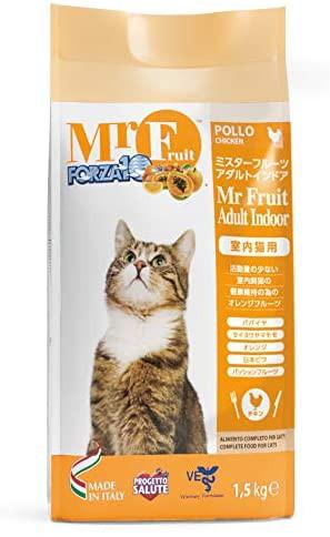 FORZA10 ミスターフルーツ アダルトインドア 1.5kg 猫 肥満 室内猫用