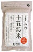 【送料無料(メール便)】オーサワの十五穀米(国内産) オーサワジャパン 300gx2個セット