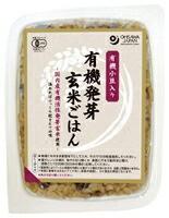オーサワの有機発芽玄米ごはん(小豆入り) オーサワジャパン 160g
