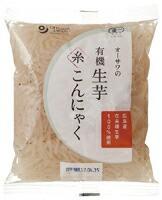 オーサワの有機 生芋糸こんにゃく オーサワジャパン 180g×4個