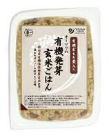 オーサワの有機発芽玄米ごはん(玄もち麦入り) オーサワジャパン 160g